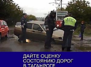 Главной проблемой дорог Таганрога стали глубокие ямы и провалы: Итоги года