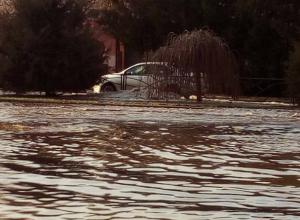 В Таганроге  случился потоп