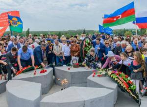Жители отдали дань памяти защитникам Самбекских высот