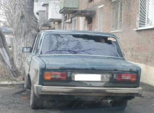 В Таганроге вновь сгорел автомобиль