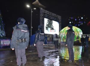 Новогодняя ночь в Ростовской  прошла без серьезных происшествий