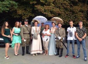 Молодые таганрогские моряки и морячки приняли участие в съемках фильма «Смотритель маяка»