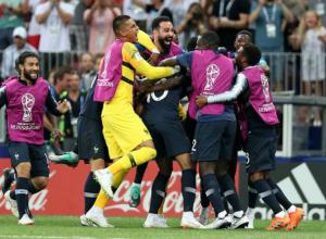 Франция-Хорватия  - 4:2 - французы стали победителями  ЧМ - 2018