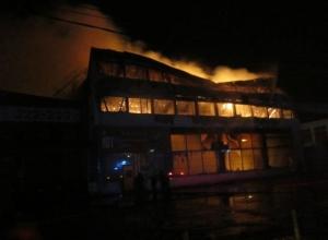 В Таганроге полностью сгорел музей  Великой Отечественной войны