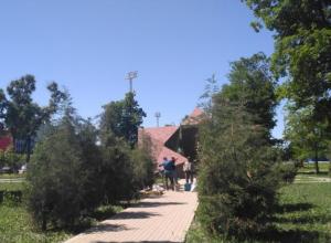 В Таганроге с благоустройством сквера «Памяти» опять промахнулись