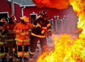 В Таганроге при пожаре в жилом доме погибли два человека