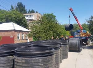 Ремонт коллектора в Таганроге продолжается: готовы засыпать участок до ул. Транспортной