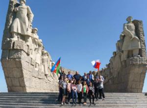 Члены азербайджанской диаспоры посетили «Самбекские высоты»