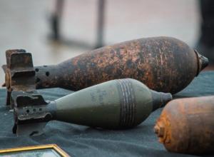 Взрывоопасные снаряды нашли под Таганрогом