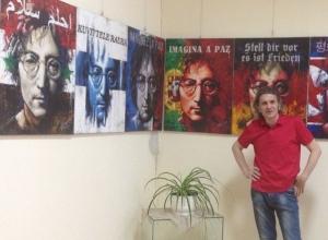 Выставка «Джон Леннон - человек мира» посетила Таганрог