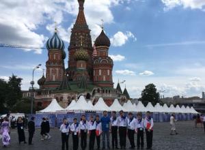 Таганрогский хор мальчиков выступил на Красной площади