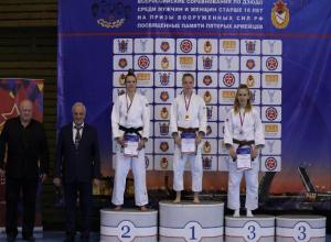 Таганроженка завоевала бронзу в чемпионате Вооруженных Сил по дзюдо