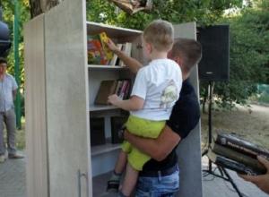 В Таганроге появилась публичная мини-библиотека под открытым небом