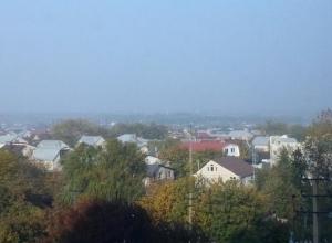 От горящей в Таганроге свалки заволокло дымом Ставрополье
