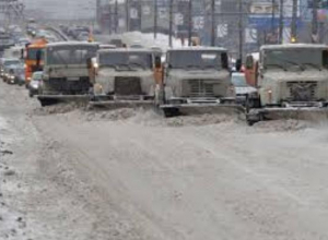 В Таганроге вновь некому чистить дороги от снега