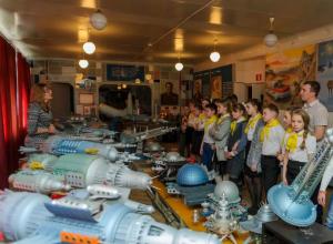 Школьники Таганрога отметили День космонавтики