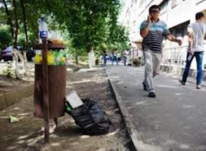 Жители Таганрога стали чаще нарушать правила благоустройства города