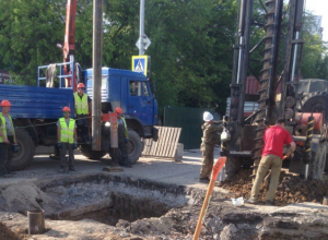 Тульские «левши» на коллекторе Таганрога начали работы по восстановлению