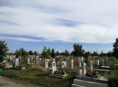 В Таганроге нашли небольшое  место под будущие  захоронения