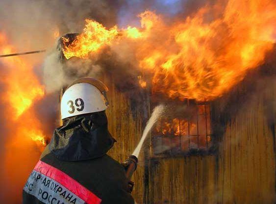 В Таганроге во время пожара сгорел мужчина