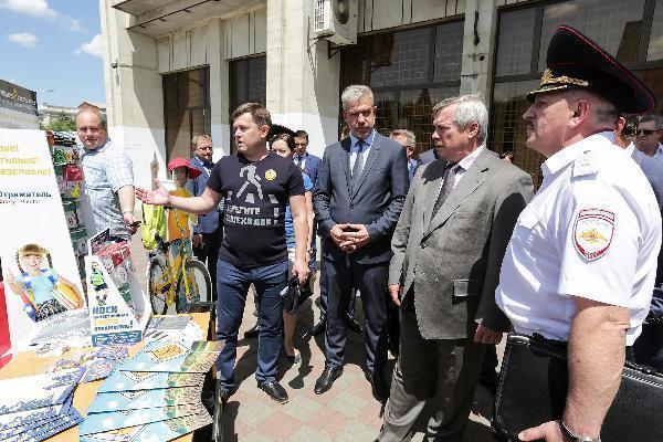 «В результате ДТП мы теряем тысячи людей работоспособного возраста» - губернатор Василий Голубев