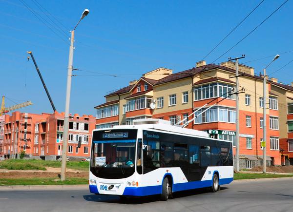 В Таганроге отмечают День Рождения троллейбуса