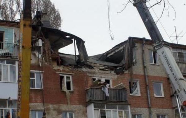 Пострадавший отвзрыва дом можно отремонтировать— власти Таганрога