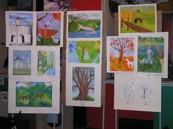 В Таганроге открылась выставка детских рисунков  немецко-российского проекта