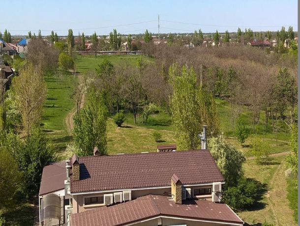 Парк им 300-летия Таганрога может засохнуть