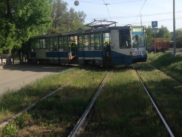 В Таганроге с рельс вновь сошел трамвай