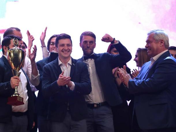 Веселые и находчивые из Таганрога получили кубок губернатора
