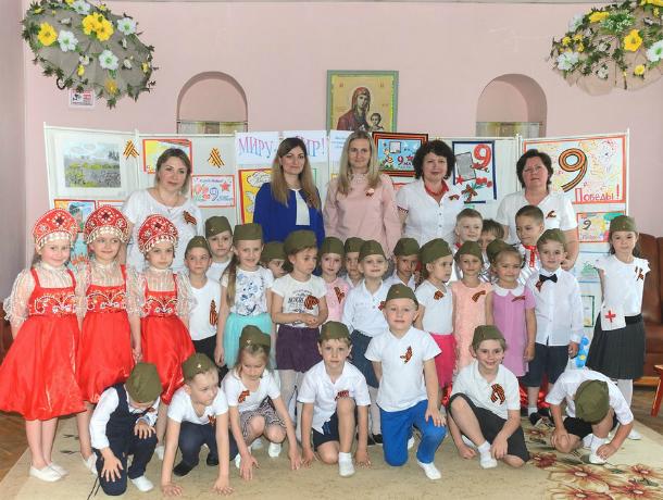 Дети поздравили ветеранов  в доме – интернате для престарелых в Таганроге