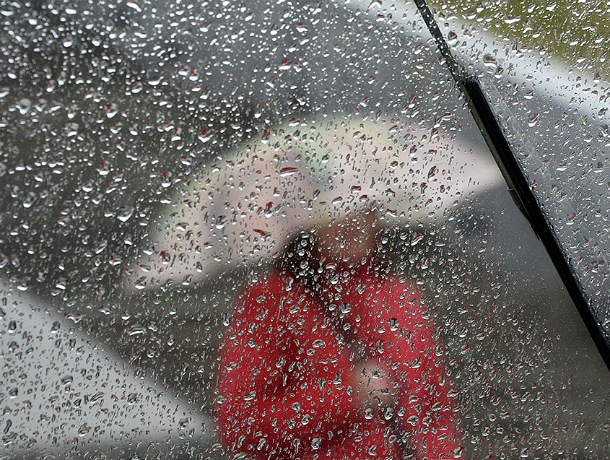 В выходные дни в Таганроге нас не оставят дожди