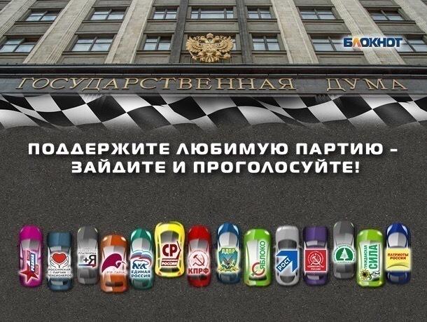 Центризбирком исключил изсписков 8-ми партий ряд претендентов в Государственную думу