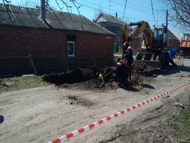В Таганроге новое обрушение коллектора