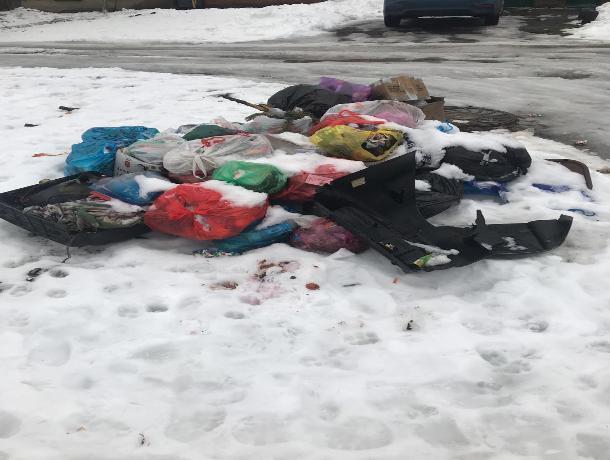 «Экотранс» не спешит убирать мусор с улиц Таганрога