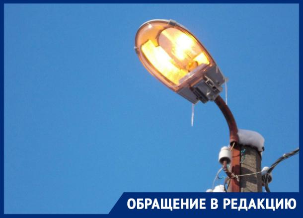 После публикаций «Блокнота» загорится фонарь и прекратила течь река на 2-ой Западной