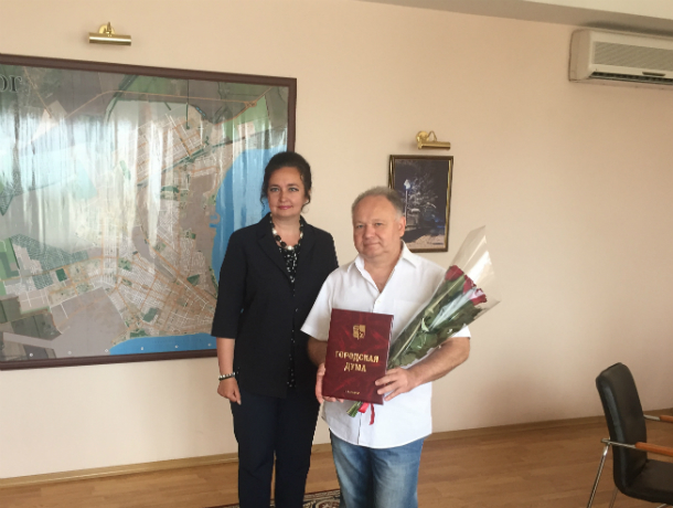 У журналиста Вахонина Сергея Васильевича  юбилей - примите поздравления