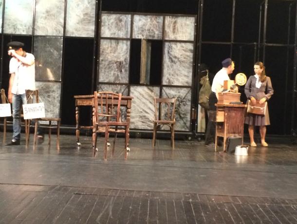В театре им. А.П.Чехова в Таганроге всходит  «Безымянная звезда»