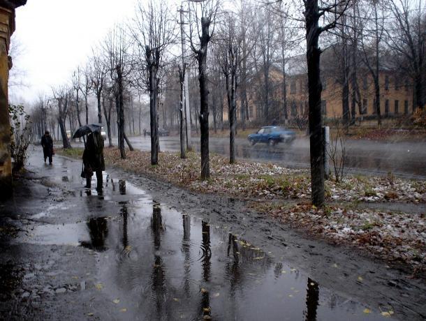 Дождливая погода ожидает таганрожцев на предстоящей неделе в марте