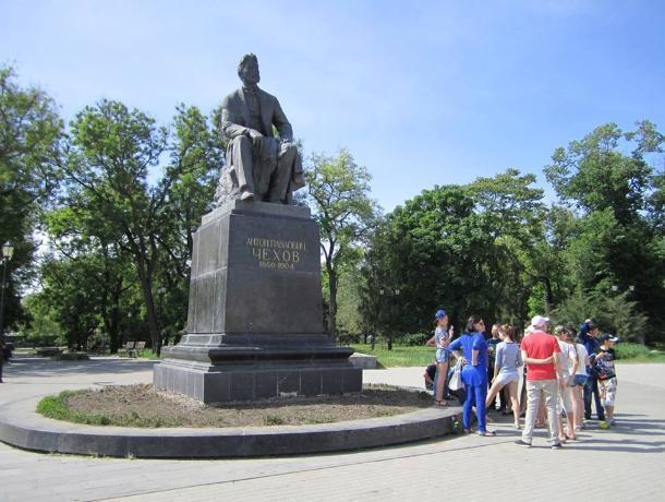 В Таганроге позабыли об Антоне Чехове
