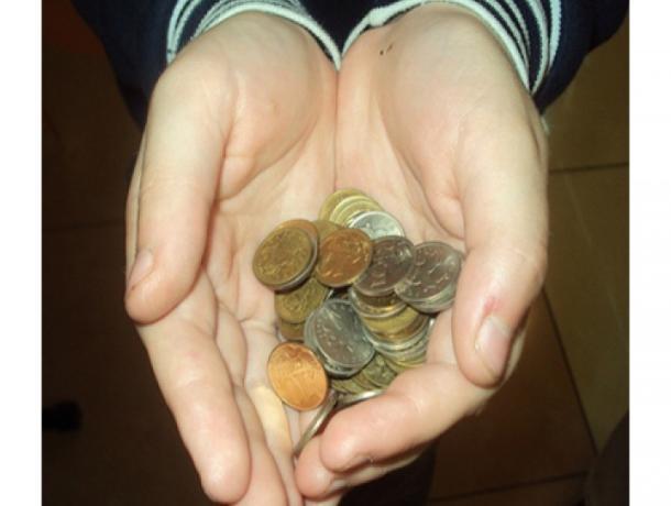 «Благодетельница» из Управления соцзащиты  «оторвала от сердца» 47 руб. 50 коп. и «одарила» ими многодетную семью в Таганроге