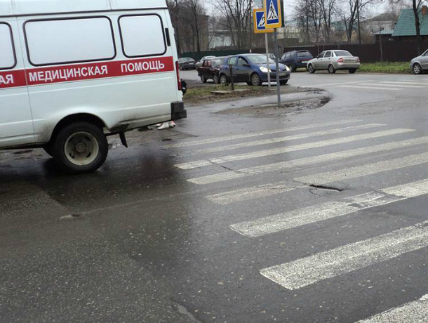 Вновь на «зебре» в Таганроге  сбили пешехода