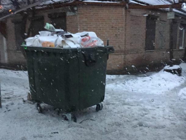 Депутат Екушевский следит, как вывозят отходы на его избирательном участке в Таганроге