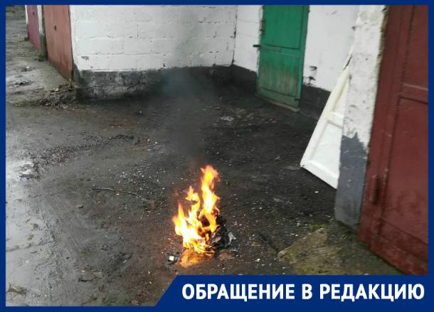 «Замечательный сосед» травит людей дымом и коптит белье в Таганроге
