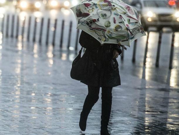 Дождливая и пасмурная погода ожидает жителей Таганрога в этот субботний выходной
