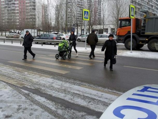 Министерство транспорта выявило нарушения в таганрогских пешеходных переходах