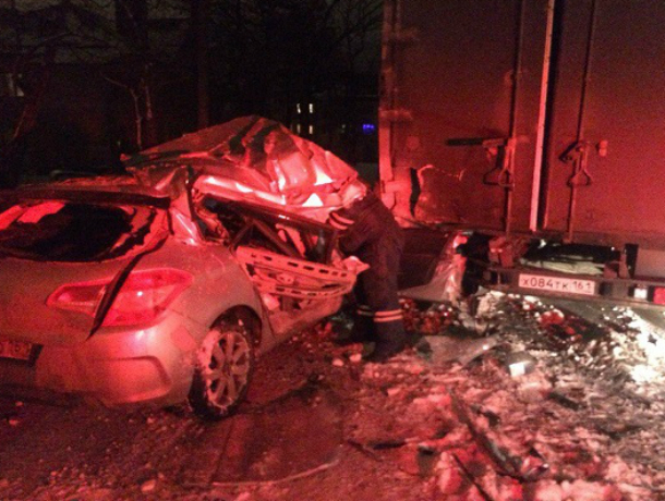 В Таганроге водителю Citroen не повезло - машины повредил и не успел скрыться