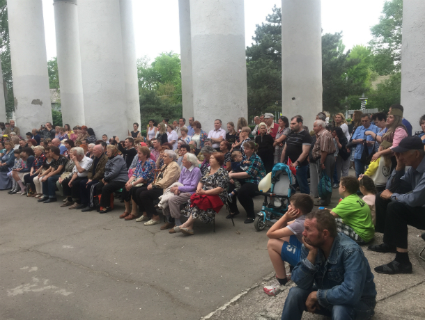Праздник в СКЦ «Приморский» удался на славу, жители Таганрога довольны