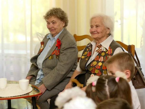 Ветераны войны были гостями в д/с №59 в Таганроге(фоторепортаж)